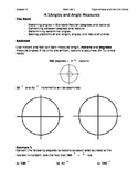 4.1 Class Notes for Unit Circle Unit (Editable)