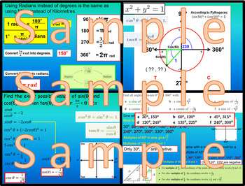 Unit Circle and Radians - Chapter 8 - International Baccalaureate - SL