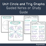 Unit Circle and Trigonometric Functions Graphs Guided Note