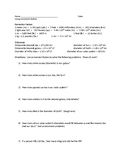 Unit Conversion Worksheet