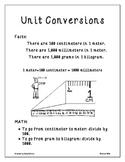 Physics: Unit Conversions Poster