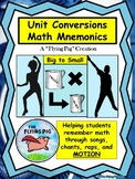 Unit Conversions-Big to Small Math Mnemonic