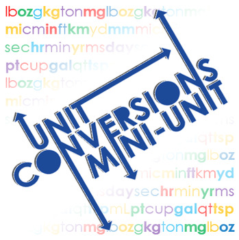 Unit Conversions Mini-Unit Resources (5 files)