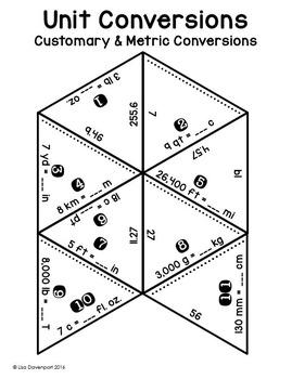 Unit Conversions (PUZZLE)