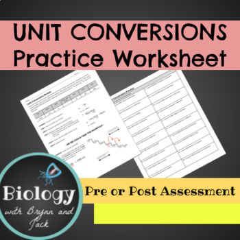Unit Conversions Review
