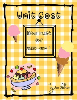 Unit Cost Ice Cream Cones