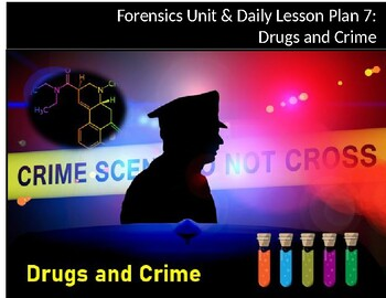 Unit/Daily Lesson Plan 7: Drugs and the Law (Toxicology)