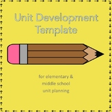 Unit Development Template