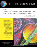 High School Physics - Unit: Early Astronomy and the Law of