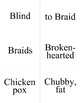 Unit Eight ASL Flashcards