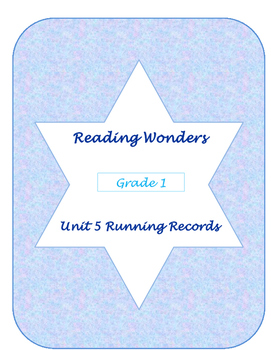 Unit Five Reading Wonders Running Records