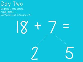 Unit Five Ready Math FlipCharts First Grade