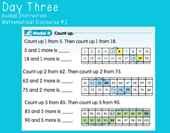 Unit Four Ready Math FlipCharts First Grade