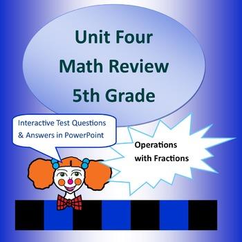 Unit Four Review for 5th Grade