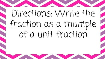 Unit Fractions Bundle