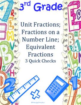 Unit Fractions, Number Line Fractions, Equivalent Fraction
