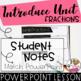 Unit Fractions PowerPoint