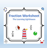 Fractions Worksheet 2