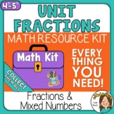 Unit Fractions as Sums Proper and Improper Fractions Digit