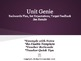 Unit Genie - Backwards Planning and Student Accountability Tool