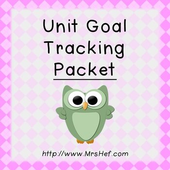 Unit Goal Tracking Packet