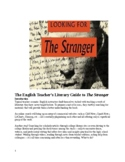 Unit & Guide to The Stranger (A. Camus) -- notes, GO's, quizzes and exam