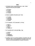 Unit I - Common Core Math - Coordinate Algebra
