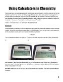 Unit I: Introduction to Chemistry Workbook