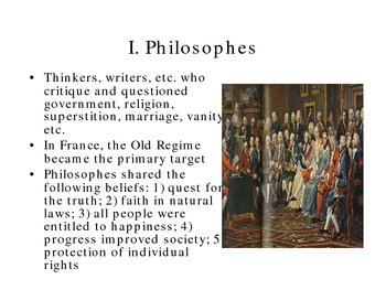 Unit II  Rise of DemocracyObjective #5: The Enlightenment Thinkers