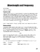 Unit III: Modern Atomic Theory Workbook