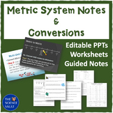Metric System Bundle with Unit and Dimensional Analysis