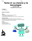 Unit Packet - AP Spanish - Ciencia y tecnologia - Science