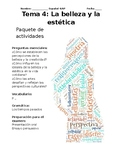 Unit Packet - AP Spanish - La belleza y la estetica - Beau