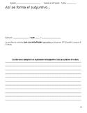 Unit Packet - AP Spanish - La vida contemporanea - Contemp