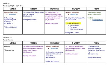 Unit Plan 1: 6th Grade Reading and Writing Workshop
