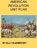 Unit Plan - American Revolution