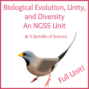 Unit Plan: Biological Evolution, Unity and Diversity
