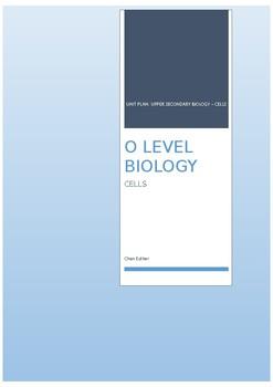 Unit Plan Cells
