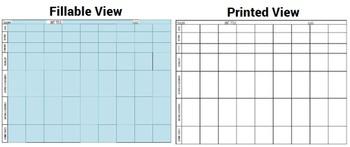 Unit Plan Curriculum Map Pacing Guide Any Subject Any Grade ELA Math CCSS