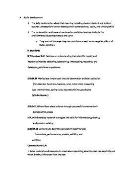 Unit Plan Freshwater Ecosystem
