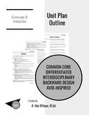 Unit Plan Glossary & Checklist