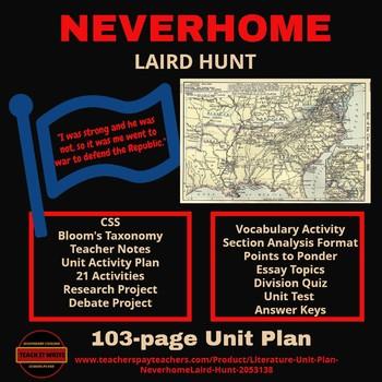 Literature - Unit Plan Neverhome(Laird Hunt)