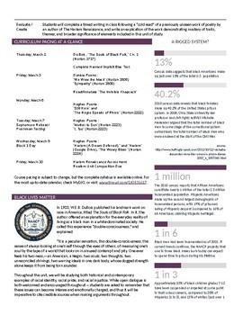Unit Plan Newsletter Template: The Harlem Renaissance