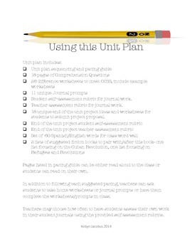 5th/6th/7th Grade Unit Plan for 90 Miles to Havana by Enrique Flores-Galbis