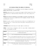 Unit Plan - Of Mice and Men - Complete Handouts: All Materials Needed