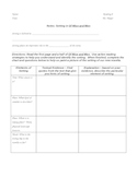 Unit Plan - Of Mice and Men - Complete Handouts: All Mater