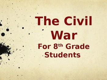 Unit Plan Outline Eighth Grade Civil War