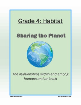 Unit Plan : Sharing The Planet