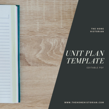 Unit Plan Template