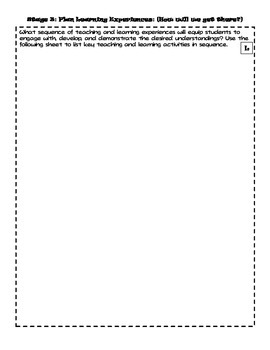 Unit Plan Template- blank(PDF)